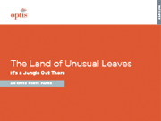 The Land of Unusual Leaves — It's a Jungle Out There